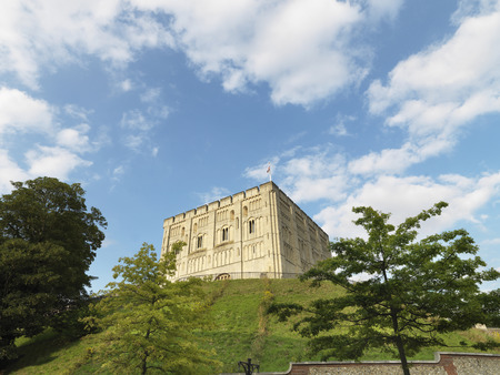 architectural exteriors: Norwich Castle in Norfolk, England Editorial
