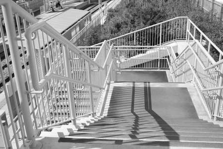 leading: stairs leading down