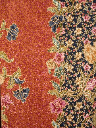 Background of Thai style fabric, General native Thai style handmade fabric pattern  photo