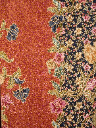 Background of Thai style fabric, General native Thai style handmade fabric pattern  Standard-Bild