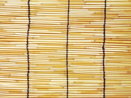 place mat: Background of Japanese bamboo mat