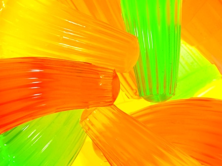 gelatine: Background of colorful jelly