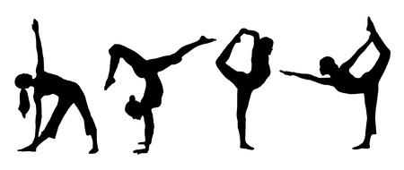 The basic Yoga standing position