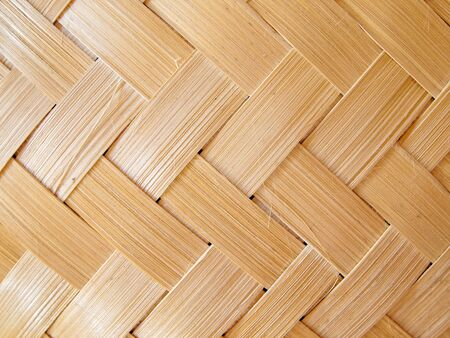 Background of woven bamboo