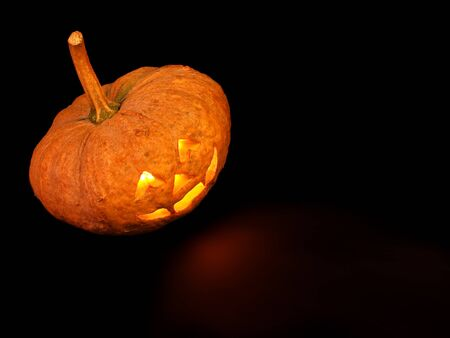 Halloween Pumpkin, Scary Jack O  Lantern