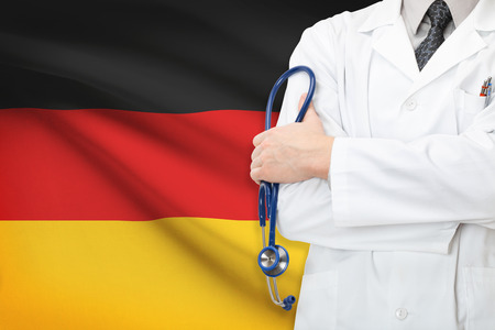 Concept of national healthcare system - Germany Stock Photo