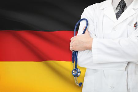 Concept of national healthcare system - Germany Standard-Bild