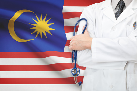 Concept of national healthcare system - Malaysia photo
