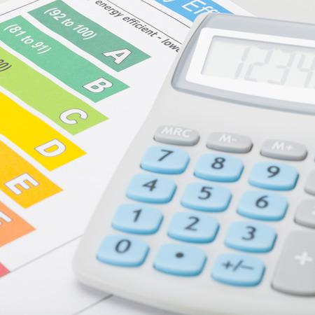 energia electrica: Tabla de la eficiencia energ�tica con la calculadora - 1 a 1