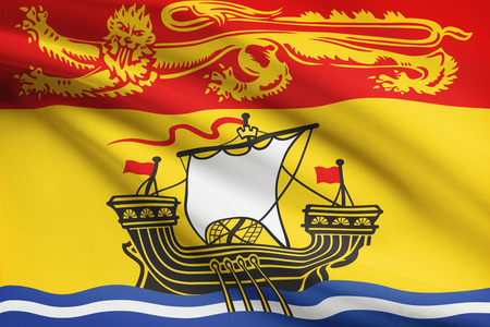 Canadian provinces flags series - New Brunswick photo