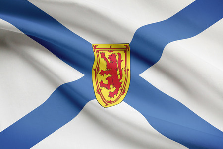 Canadian provinces flags series - Nova Scotia photo