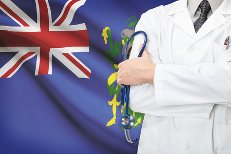 pitcairn: Concept of national healthcare system - Pitcairn Island Stock Photo