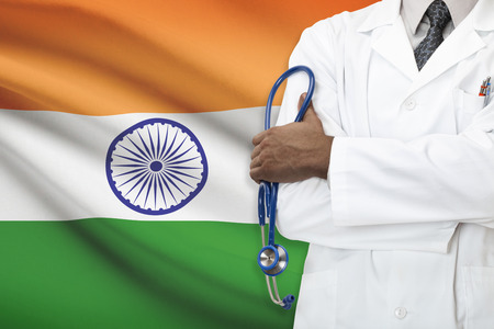 Concept of national healthcare system - India photo