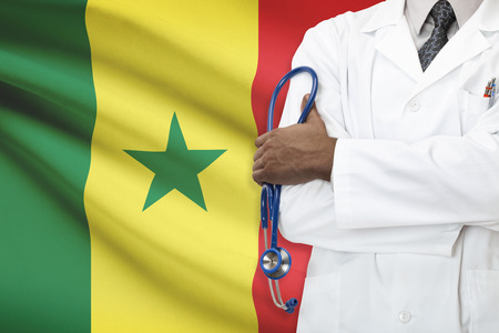 senegal: Concept of national healthcare system - Senegal Stock Photo