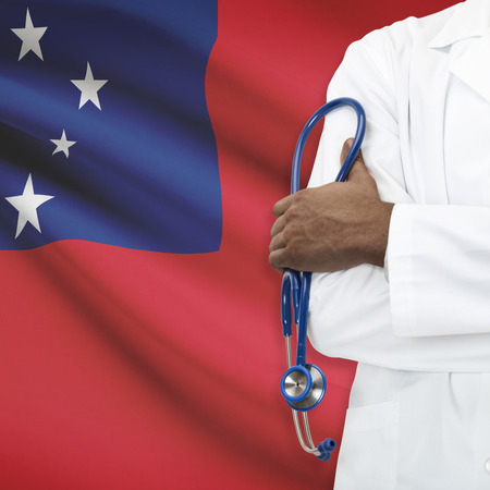 samoa: Concept of national healthcare system series - Samoa Stock Photo