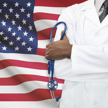 Concept of national healthcare system series - United States