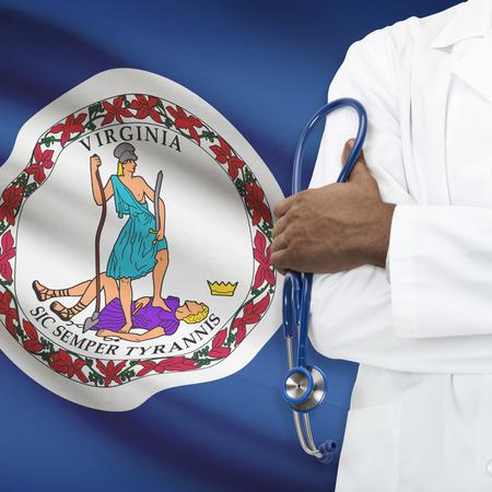 ヘルスケア: 国民医療制度はシリーズ - バージニア州のコンセプト