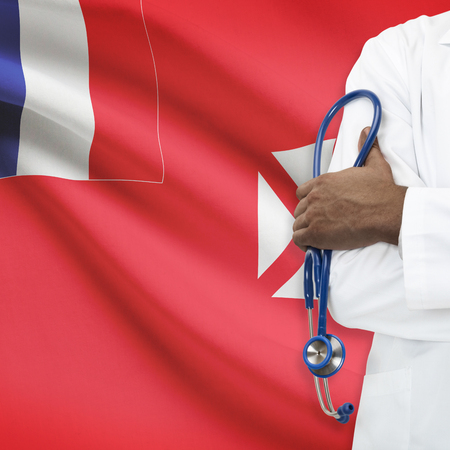 wallis: Concept of national healthcare system series - Wallis and Futuna Stock Photo