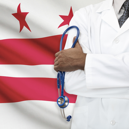 columbia district: Concept of national healthcare system series - District of Columbia - Washington D.C.
