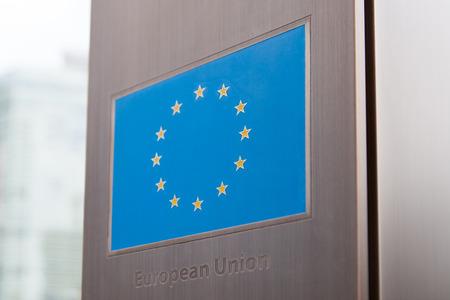 european union flag: European Union flag - part of a series