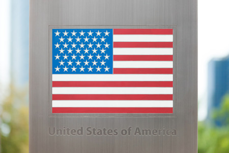 domestic policy: National flags on pole series - USA