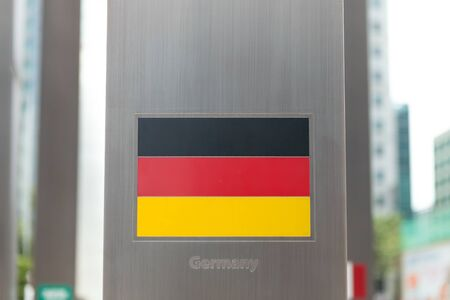 domestic policy: National flags on pole series - Germany