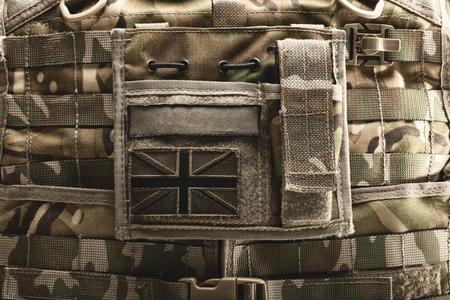 bulletproof vest: Close up shot of bulletproof vest
