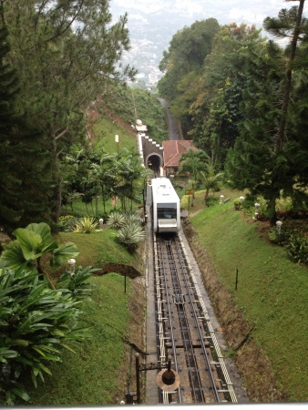 Breathtaking view in Penang Hill