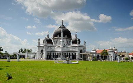 faade: Zahir Mosque in Kedah