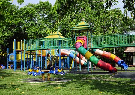 kelantan: Children Playground At Taman Tengku Anis, Kelantan, Malaysia