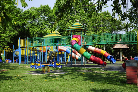 anis: Children Playground At Taman Tengku Anis, Kelantan, Malaysia