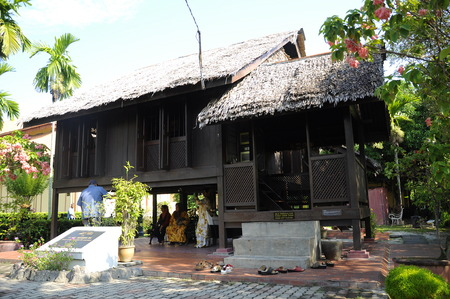 malaysia culture: P. Ramlee House (museum) in Penang