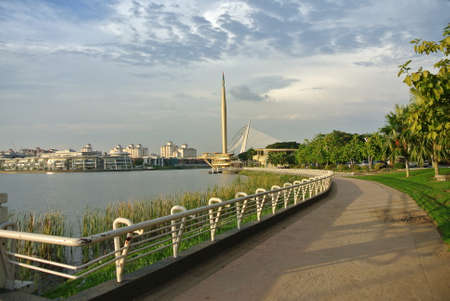analogous: Millennium Monument or Monumen Alaf Baru is a national monument in Putrajaya, Malaysia which is analogous to the Washington Monument in Washington DC, USA. It was the second national monument to be built in Putrajaya after Putrajaya Landmark. Editorial