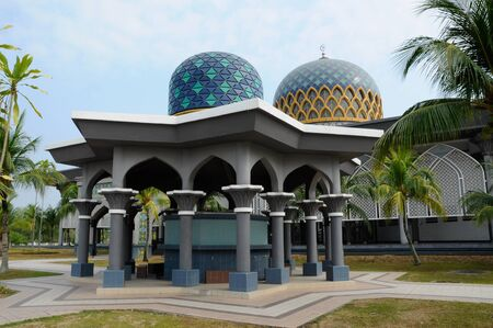 Sultan Abdul Samad Mosque or KLIA Mosque is a mosque for Kuala Lumpur International Airport on February 23, 2014 at at Sepang, Selangor, Malaysia. The mosque was originally named as KLIA Mosque and was officially named after Almarhum Sultan Sir Abdul Sama