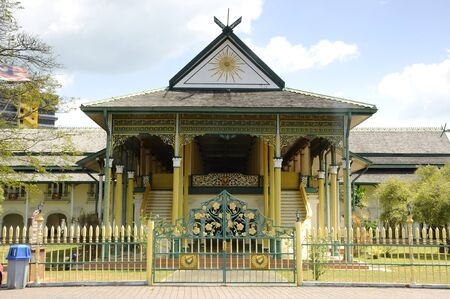 The Alor Seter Main Hall or Balai Besar Alor Setar in Kedah, Malaysia Фото со стока