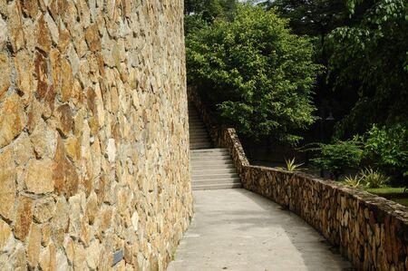 pedestrian walkway: Pedestrian walkway at the Mosque