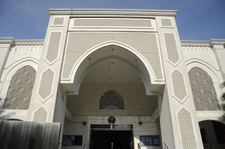 Al Bukhary Mosque in Kuala Lumpur, Malaysia. It was completed on 2006. The capacity of the mosque is 2700 person. Stock fotó