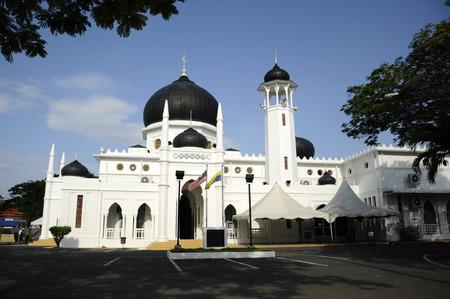 Alwi Mosque in Kangar Фото со стока