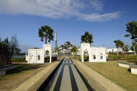 terengganu: The Crystal Mosque at Kuala Terengganu, Terengganu, Malaysia
