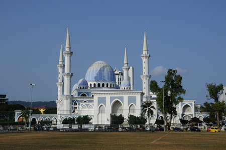Sultan Ahmad 1 Mosque located at Kuantan, Pahang. It was the state mosque of Pahang, Malaysia.
