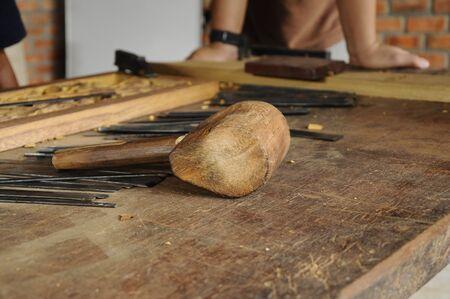 merbau: Wood carving tools