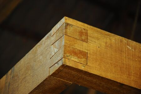 merbau: Malaysian traditional wood mortise from Terengganu