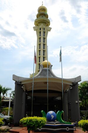 sunni: The Penang State Mosque or Masjid Negeri Pulau Pinang is a state mosque located in George Town, Penang,Malaysia. Construction of the mosque was completed in 1980.