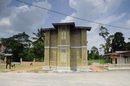 malay village: Masjid Ihsaniah Iskandariah en Kuala Kangsar