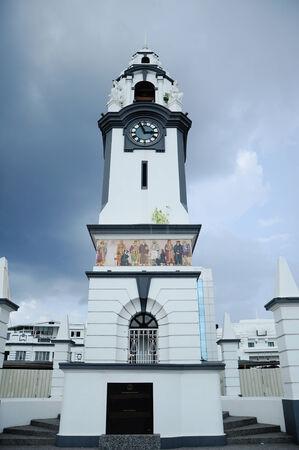Birch Memorial (Tugu Peringatan Birch) located at Ipoh, Perak, Malaysia on December 17, 2014. The Memorial was built on 1909. Editorial