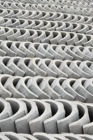 precast: V-Shape drain is a surface water drainage drain to discharge rain water to nearest channel. It was made from precast concrete from factory.