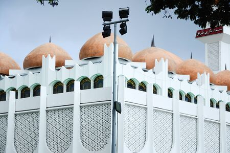 recite: Perak State Mosque located in Ipoh Perak on 13.12.2014. It is landmark of Ipoh Town. This mosque uniqueness lies in its design as there are 125 domes on its roof.