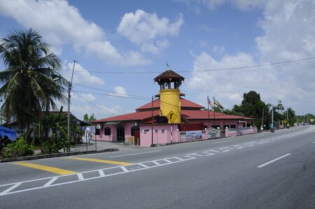 rabit: Batak Rabit Old Mosque in Teluk Intan Perak on December 11, 2014.
