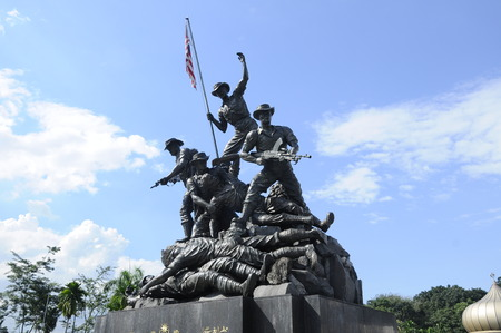 Tugu Negara a.k.a National Monument is a monument to commemorate for those who died during World War II and the Malayan Emergency. The monument complex was constructed in 1966 and complete on 1966 in an area 48,562 square metre.