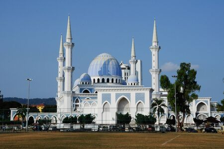 Sultan Ahmad 1 Mosque. The mosque was located at Kuantan, Pahang. It was the state mosque of Pahang, Malaysia.